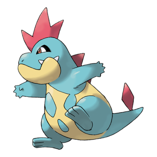 Croconaw Artwork