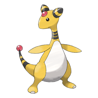 Ampharos Artwork