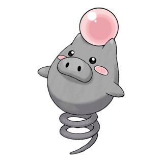 Spoink Artwork