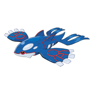 Kyogre Artwork