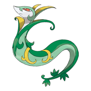 Serperior Artwork