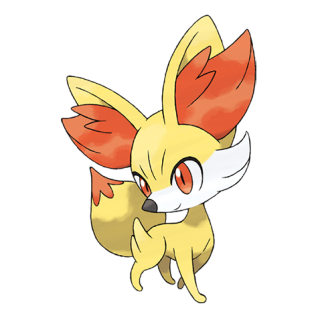 Fennekin Artwork