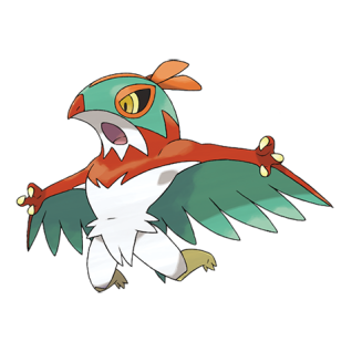Hawlucha Artwork